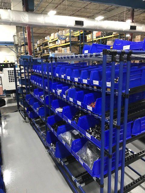 Vendor Managed Inventory Fastener Company | Kanban System